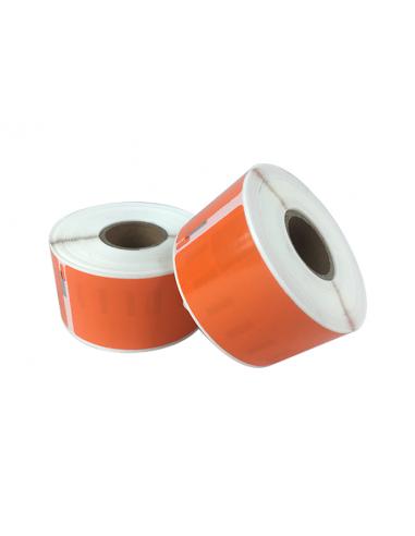 Étiquettes Dymo Compatibles 99012 orange - 89 x 36mm