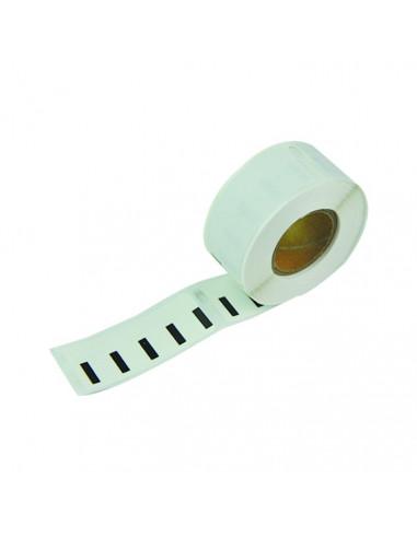 1 Étiquettes Dymo Compatibles 99017 - 50 x 12mm