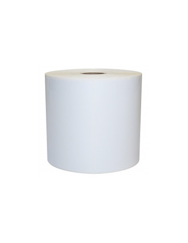 1 2580 Etiquettes adhésives Vinyl Blanc (PVC) 50x25mm -mandrin 25