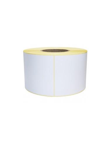 1 1000 Etiquettes Thermique Adhésive Amovible Blanc 90x60mm - mandrin 76