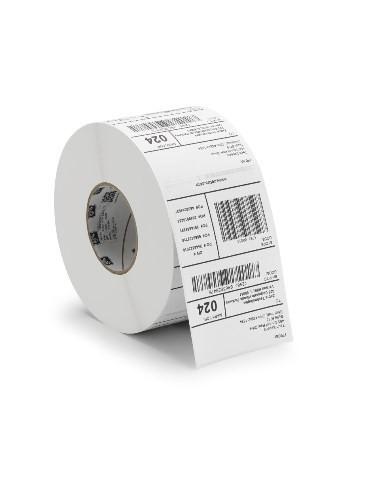 1 Rouleau de 6360 étiquettes 83 x 25 mm - Mandrin Ø76mm - Polyester Blanc Z-3000T