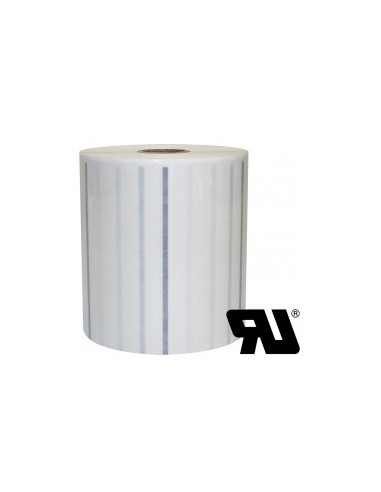 1 1000 Etiquettes adhésives PET Transparent 105x52mm - M25