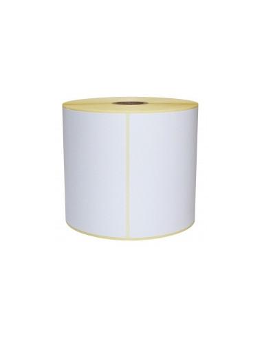 1 10 000 étiquettes - 15 x 6,35mm - Polyester Extrême Blanc - Mandrin Ø25