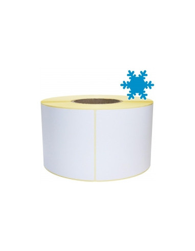 1 3 000 étiquettes adhésives 50,8 x 25,4mm - Papier Congélation - Ø25